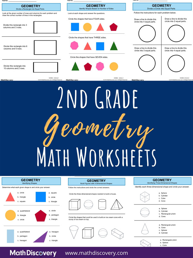 2nd Grade Geometry Worksheets