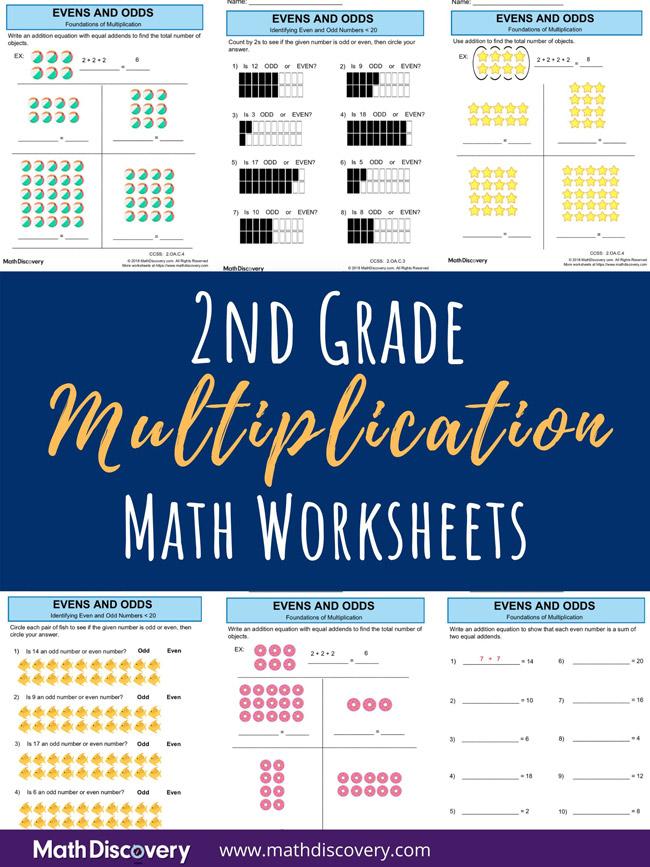 2nd Grade Multiplication Worksheets